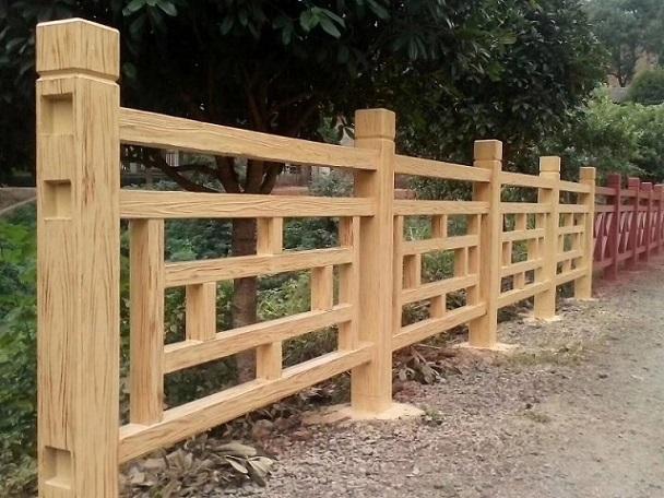 仿木质护栏