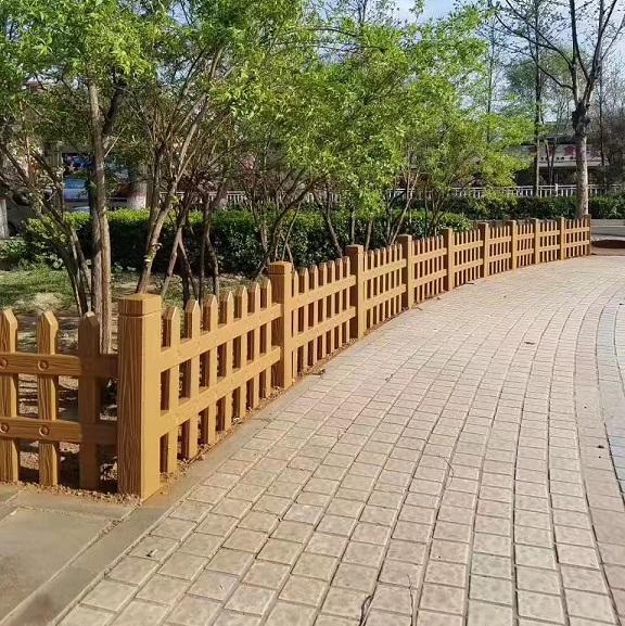 混凝土仿木围栏